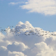 Hintergrundbild - Blauer Himmel mit Vogelschwarm